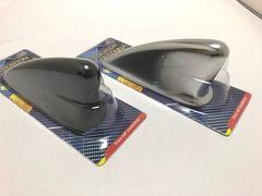 汎用 シャークフィン ダミー アンテナ ブラック クロムメッキ