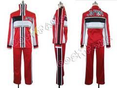 cos654新テニスの王子様 U-17選抜 赤ジャージコスプレ衣装