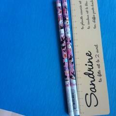新品♪日本製B鉛筆2本セット♪アリス風のウサギさん♪美品