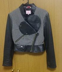 ヴィヴィアンジャケット 2サイズ 異素材混合ジャケット