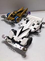 ミニ四駆 ジャンク 2台 フロント可動ダンパー