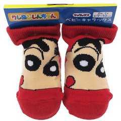 ♪新品 クレヨンしんちゃん 新生児靴下2足セット♪