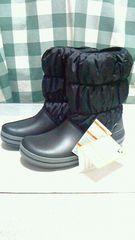 クロックス ブーツ 25cm W9(小さめ) ブラツク 新品未使用☆送料無料