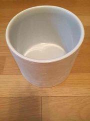 花器 鉢 焼き物 白