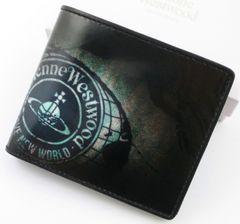 新品★箱付 ヴィヴィアンウエストウッド 折り財布 ブラック
