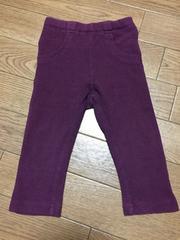 80 ストレッチパンツ 紫