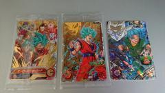限定!新品未開封☆ドラゴンボール カード/金2枚・銀1枚☆�C