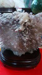 赤幻影水晶ファントムクラスター原石!台座付き1、6キロ