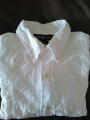 ポロラルフローレンパッチワークシャツサイズLPOLO