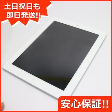 ●美品●iPad第4世代Wi-Fi32GB ホワイト●