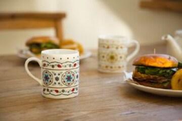 イズニックマグカップ トルコ★エスニックインテリア 食器 コップ グラス