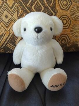 AIR DO/エアドゥ/ベアドゥ/シロクマ/クマ/熊/くま/ぬいぐるみ/�A