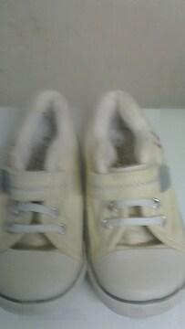TDR ミッキー 靴 18�p 美品