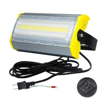 LED投光器,LED作業灯,50W 700W相当 COBチップ 6900LM 240度