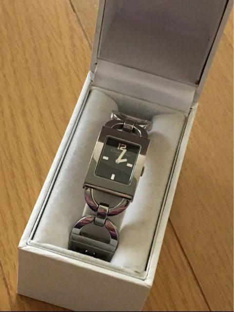 クリスチャンディオール  腕時計 ブレスレットウォッチ シルバー  < ブランドの