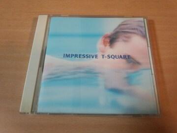 T-SQUARE CD「インプレッシヴIMPRESSIVE」T-スクウェア●