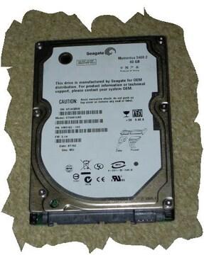 ◆Seagate◆2.5インチHDD SATA 60GB NO.H3