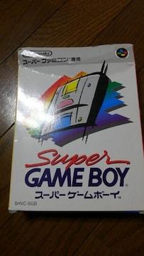 スーパーゲームボーイ 箱付き取説付き