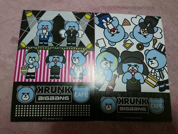 BIGBANGカフェのランダムカード