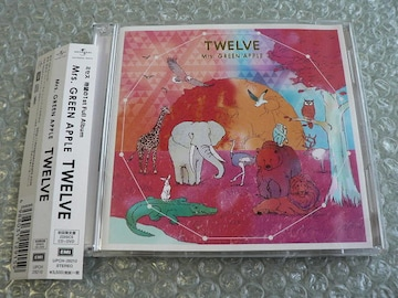 Mrs.GREEN APPLE『TWELVE』初回限定盤【CD+DVD(120分)】他出品