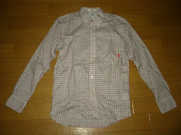 WTAPS × THOMAS MASON ダブルタップス BDチェックシャツ S