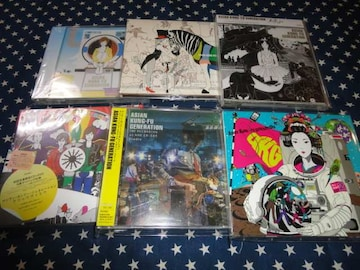 ASIAN KUNG-FU GENERATION アルバム6枚セット 初回盤DVD付(GOTCH