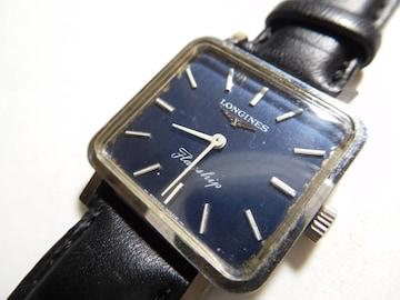 ロンジンの腕時計 ボーイズタイプ 手巻き 稼動品!。