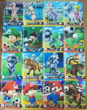 任天堂 マリオスポーツ スーパースターズ amiibo カード 計31枚