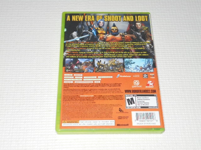 xbox360★BORDERLANDS 2 海外版(国内本体動作可能) < ゲーム本体/ソフトの