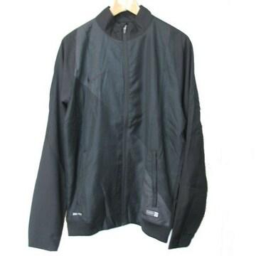 新品◆送料無料◆NIKE黒サッカーウインドジャケット(M)