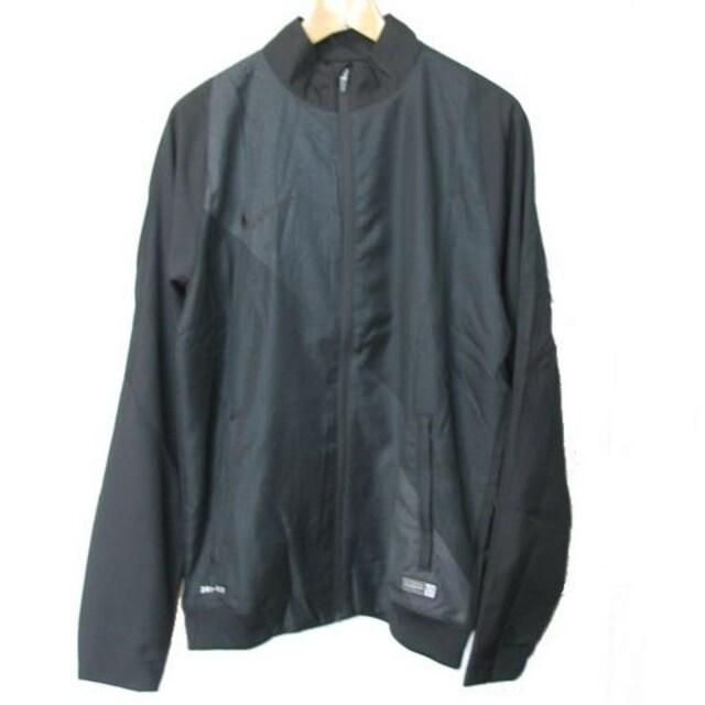 新品◆送料無料◆NIKE黒サッカーウインドジャケット(M)  < レジャー/スポーツの