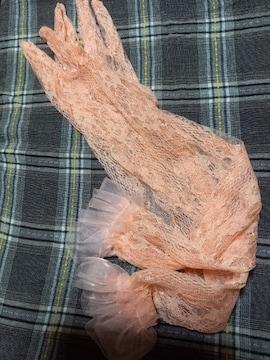 �S 淡いオレンジの手袋
