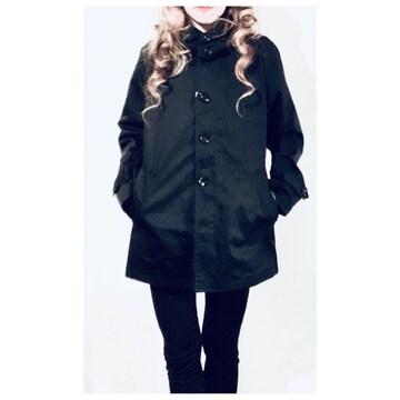 新品 スタイリッシュなモード系♪フード付きショートジャケット