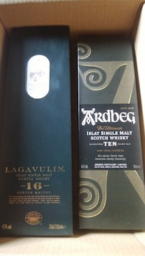 ラガーヴーリン1本、アドベッグ1本