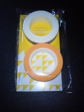 即決嵐マスキングテープ《黄》二宮 送料120円