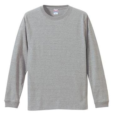 5.6オンス ロングスリーブTシャツ(1.6インチリブ) M