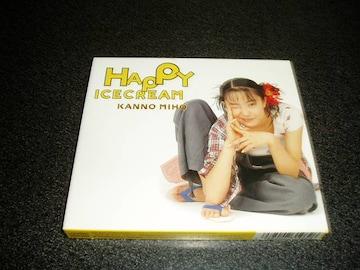 CD「菅野美穂/ハッピーアイスクリーム」HAPPY ICECREAM 初回盤