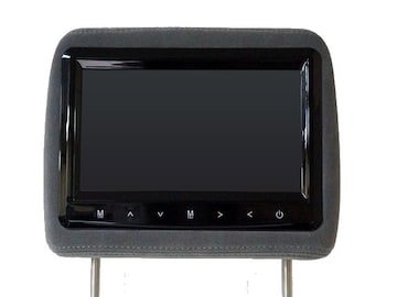 9インチ モケットタイプヘッドレストモニター グレー