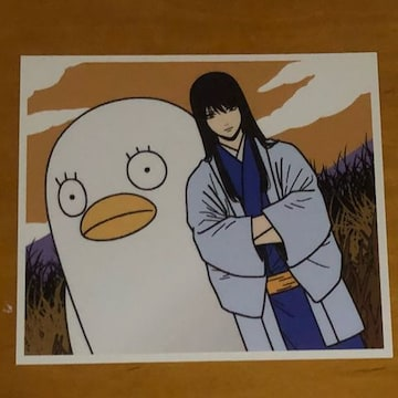 銀魂 イラストカード 桂・エリザベス