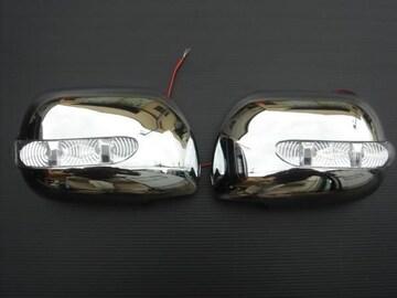 トヨタ LEDメッキドアミラーウィンカー現行bB QNC2#系