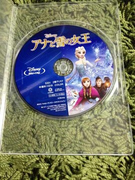 新品 アナと雪の女王 ブルーレイ ディスクのみ 日本国内正規品