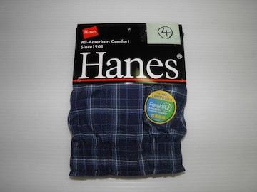 即決 Hanes  ヘインズ トランクス 前開き Lサイズ�C