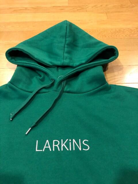 LARKINS  ラーキンス  プルオーバー  大きいsize2XL位  LL  緑