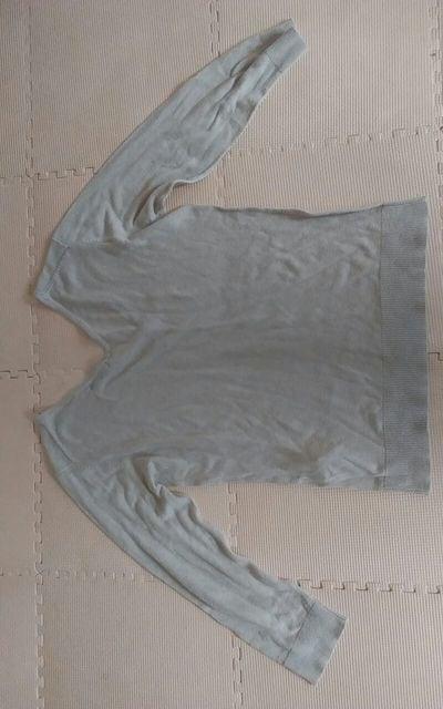 COMME CA ISMLサイズ ニット 七分袖 < 女性ファッションの