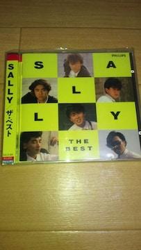 廃盤超レア☆SALLYベストCD「SALLY/ザ・ベスト」☆サリー☆