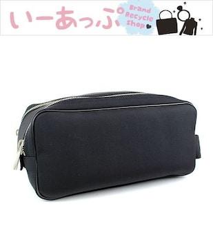 ダンヒル セカンドバッグ クラッチバッグ ブラック 美品 j358