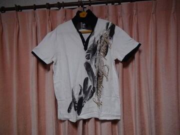 アビリティバーンのインデアンのラメ入りポロシャツ3L!