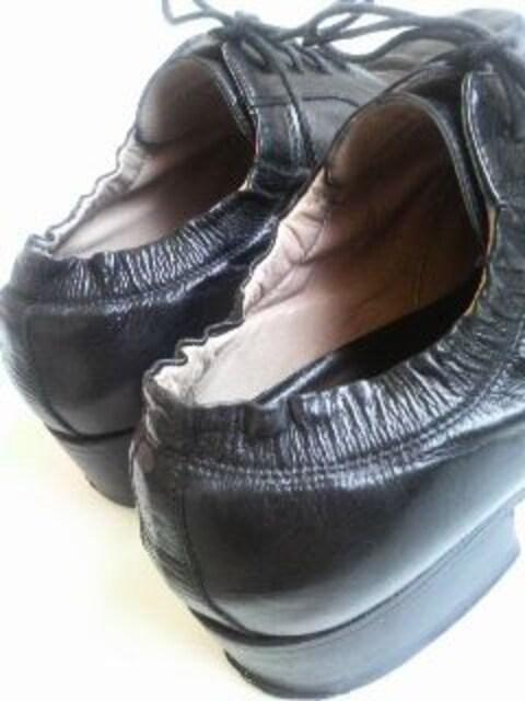 レアマルタンマルジェラ�Cプレーントゥシューズおじ靴足袋ガーリーMartinMargiela < ブランドの