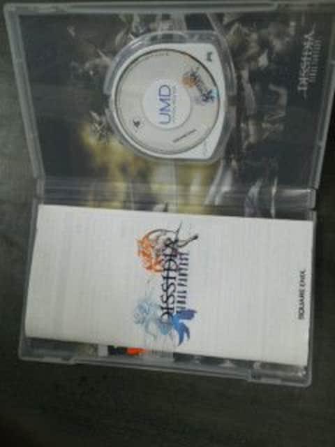 PSPディシディアファイナルファンタジー攻略本、おまけ付き < ゲーム本体/ソフトの