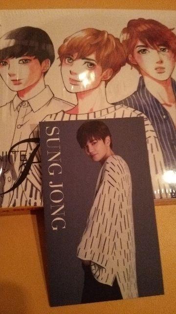 INFINITE/F恋のサイン♪初回カード→ソンジョン  < タレントグッズの